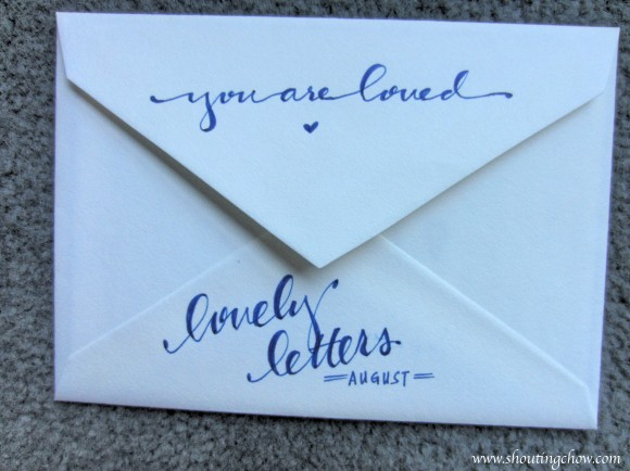 Lovely Letters Aug 2014 2