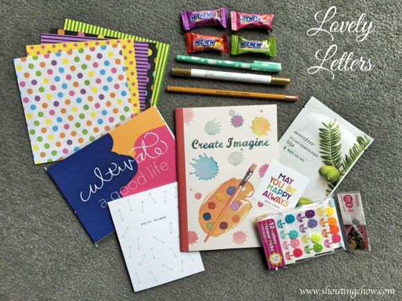 Lovely Letters April 2015